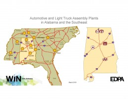 Vehicle Assembly Plants in the Southeast