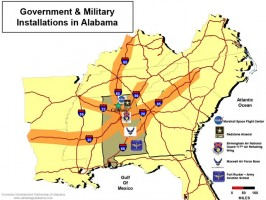 Military Installations in Alabama