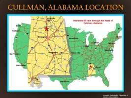 Alabama Location Map