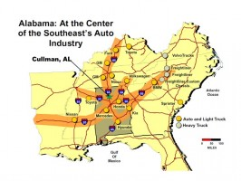 Center of the Southeast Automotive Industry