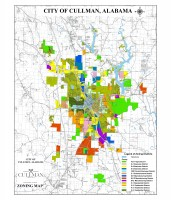 City of Cullman Zoning Map