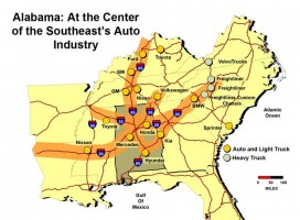 Southeast Auto Industry Corridor